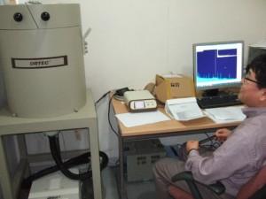 ゲルマ半導体測定器とイム・ユング氏