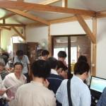 ちくりん舎にて高木基金「放射能測定研究交流会」が開かれました