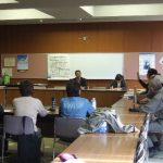 東御市で講演会(3回目)とリネン吸着法による監視説明会を行いました